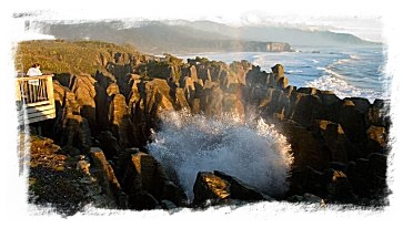 punakaki rocks - one of natures spectacular creations